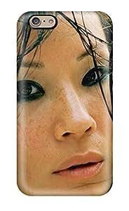Iphone Case - Tpu Case Protective For Iphone 6- Lucy Liu Closeup Actress Asians People Women