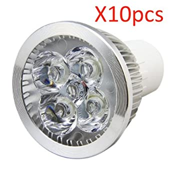 ossun luces de LED, Foco Lámpara, 5 W, GU10, intensidad regulable superbrillante