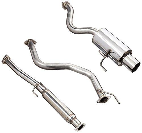 - Spec-D Tuning MFCAT2-CV963 Honda Civic 3Dr Hatchback N1 Catback Exhaust Muffler System