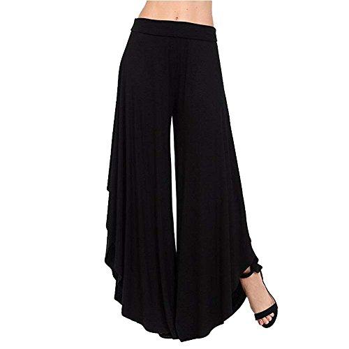 Tendance Pantalon Streetwear Black Deux Battercake De Poches Unicolore Pantalons 1 Swag Sarouel Casual Dame Longues Jeune Ete Loisirs dwwxzvqa