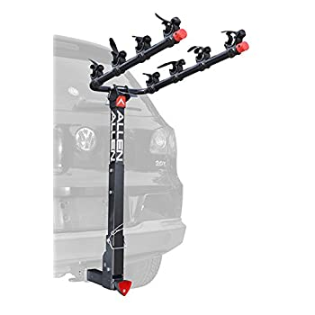 Image of Allen Sports 4-Bike Hitch Racks for 2 in. Hitch Bike Racks