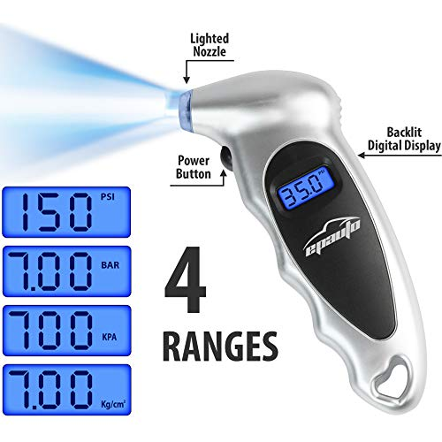 Image of EPAUTO Digital Tire Pressure Gauge