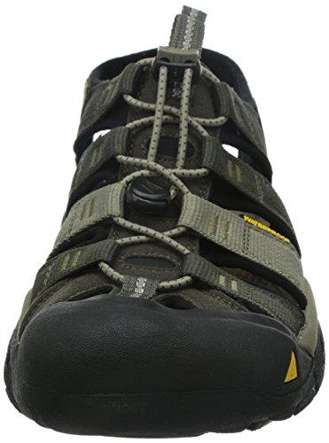 Keen Men's Newport H2 Sandal Black Olive/Brindle 6IkV3O