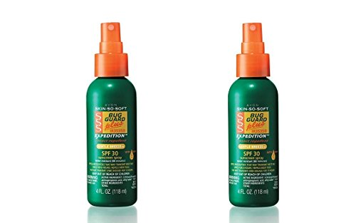 2 Bottles - Avon Skin so Soft Bug Guard Plus Expedition SPF