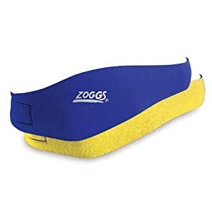 Zoggs - Junior Reversible Earband, color azul