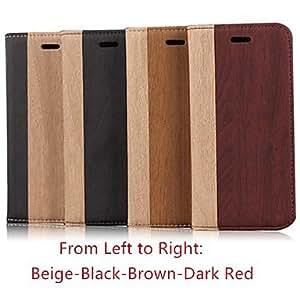 QJM iPhone 6 Plus compatible Special Design Full Body Cases , Dark Red