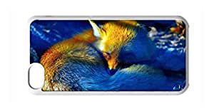 diy case fox Snap-on Hard Back Case Cover Shell for iphone 4 4s -309