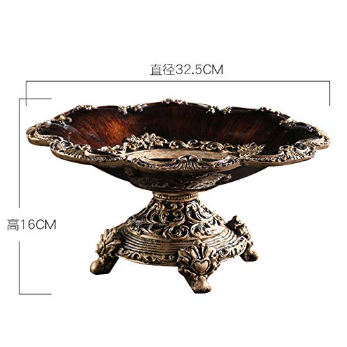32.5cm/×16cm fruit dish SHWSM Fruit plate candy dish living room home coffee table decoration