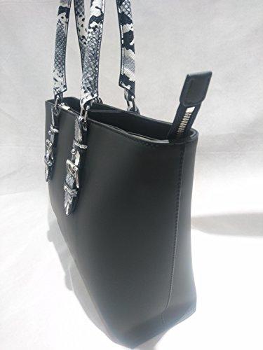 borsa armani jeans shhopping nero 922210