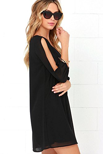 Women's Off Shoulder Long Sleeve Swimwear Cover Up