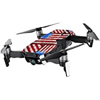 MightySkins Skin for DJI Mavic Air Drone - Flag Drips | Min Coverage Protective, Durable, and Unique Vinyl Decal wrap cover | Easy To Apply, Remove, and Change Styles | Made in the USA