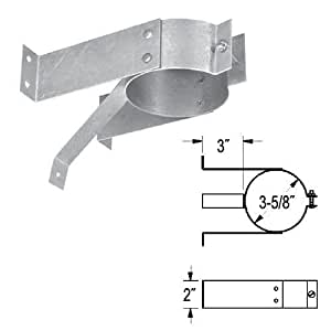 "Simpson Duravent Tee Support Bracket 3 "" by M & G Duravent Inc"