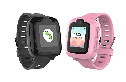 Smart Watch Phone for Kids - Ultimate 3G Smartwatch with GPS Tracker, Touchscreen, Camera, Touch SOS Remote Alarm, Fitness Trackers, Waterproof Cell Phone Watches for Girls Boys by myFirst Fone-Black by Oaxis (Image #6)