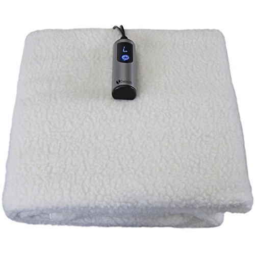 Earthlite Massage Table Warmer & Fleece Pad (2in1) - 3 Heat Settings, Updated Controller, 0.5