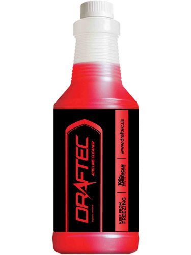 Draftec Advanced Acid Line Cleaner Red Tracer 32 oz