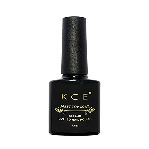 RedDhong Matte Varnish Polish Black Nail Gel Nail Art Finish Lacquer Removable Washable