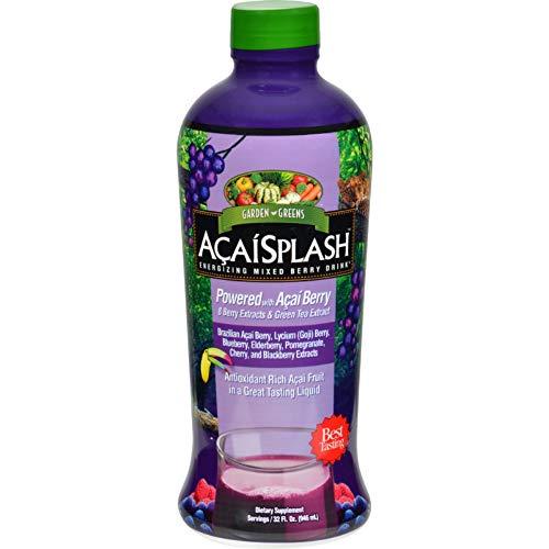 Garden Greens AcaiSplash Energizing Mixed Berry Drink, 32 Ounce