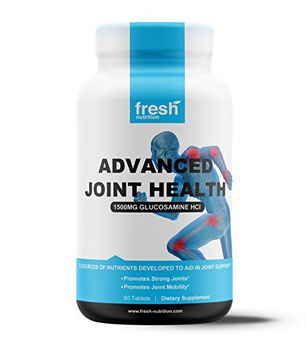 Advanced Joint Health Contains Every Proven Ingredient for Joint Pain - Glucosamine HCI, Chondroitin, MSM, Collagen Type I & II, White Willow Bark - The Only Product You Need for Joint Health (Hcl Glucosamine)