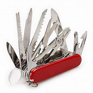 JUNQL amp; kit de supervivencia/abrebotellas/termómetro/cuchillo/Multi Tools/Alicate camping/Viaje/multifunción para actividades de exterior de/Práctico ...