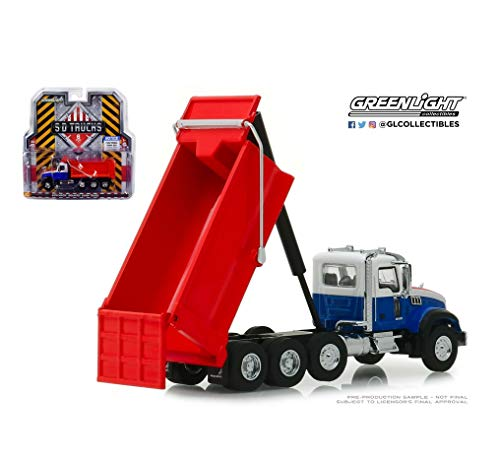 1:64 Love Gift SD Trucks 6 Red White & Blue 2019 Mack Granite Dump Truck NIP! Collect Rare Vehicle (Trucks Mack Rare)