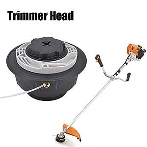 succeedw Nylon Trimmer Head Universal Bump Feed, Auto Cut C6-2 ...