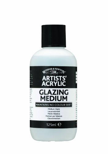 - Winsor & Newton Professional Acrylic Glazing Medium, 125ml