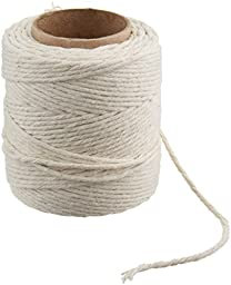 CORDAGE SOURCE 1136 No.16 Cotton Twine, 200-Feet