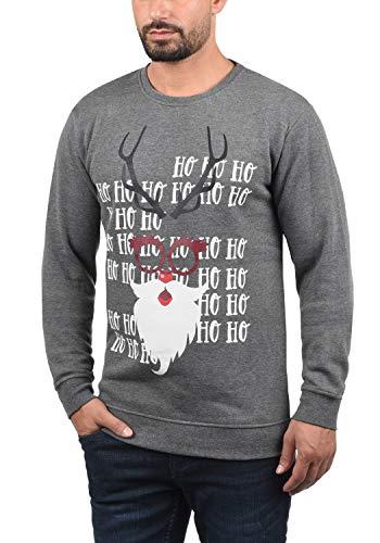 Navidad de Sudadera Soldi Sweatshirt Su Solid nEtIqgR