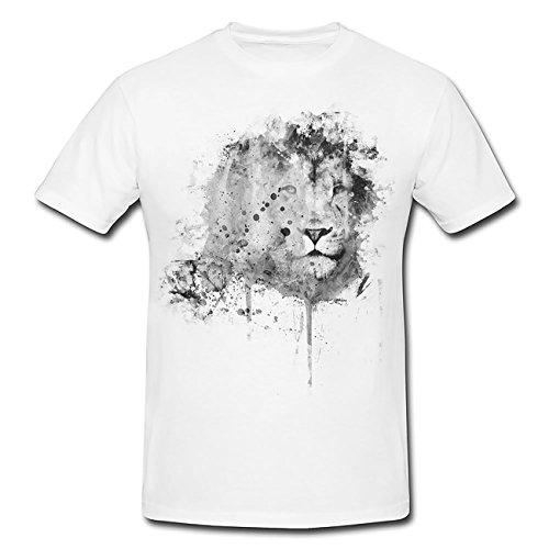 Loewe II T-Shirt Herren, weiß mit Aufdruck
