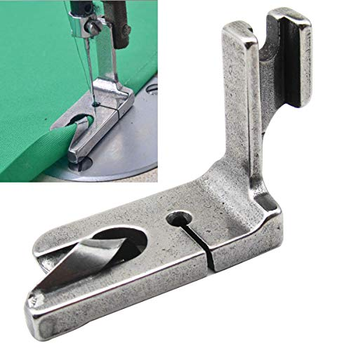 CKPSMS Brand - 1PCS Scroll Type Hemmer Foot/Rolled Double Fold Hem Presser Foot for Sewing Machine (120938 3/32) (Sewing Machine Gemsy)