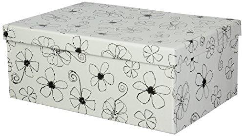 Pioneer Photo Albums B-1BW Photo Storage Box, Floral Design - Floral Album