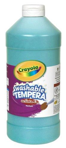 Crayola Tempera Washable 32 Ounce Turquoise