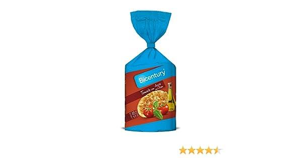 Bicentury Tortitas Maíz Tomate Con Aceite De Oliva Nackis - 123.5 g: Amazon.es: Amazon Pantry