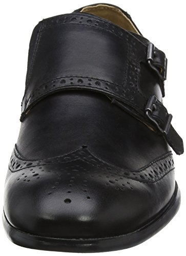 Brogue Cordones Negro Tape 0 para Black Red Zapatos Hombre de Overton Cq74f