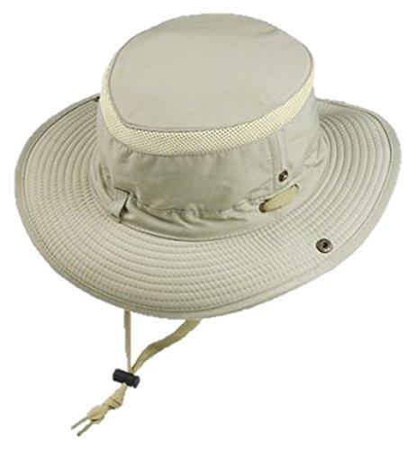 Glacier Glove Outback Hat, Khaki, Large