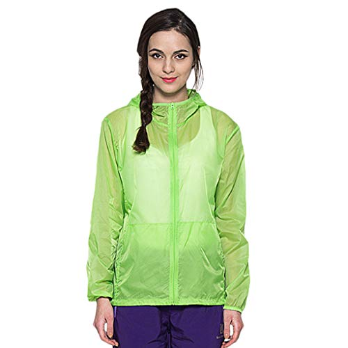 Women Men's/Youth UPF 50 Sun Protection Hoodie Long Sleeve Performance T-Shirt Windproof Outdoor Bicycle Sports Jacket ()