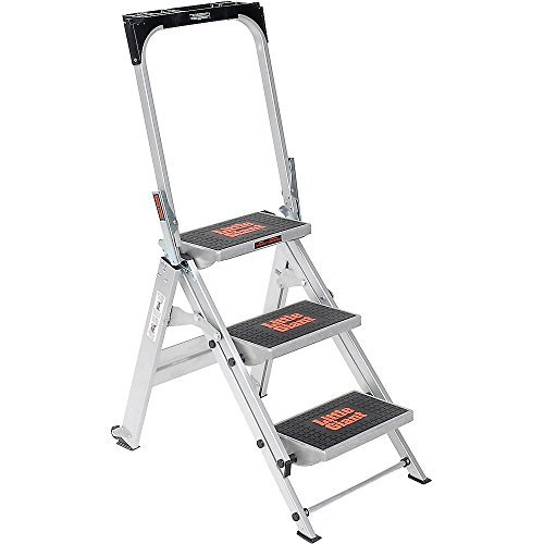 Little Giant Safety Step Ladder - Three Steps - 22X34-1/2 X43