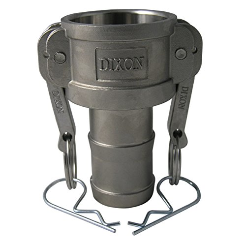 A380 Permanent Mold Aluminum 3//4 Dixon Sanitary Cam and Groove Female Coupler x Hose Shank Global Type C