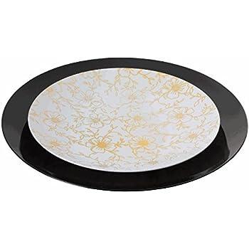 Trendables™ 60 - Pack Combo Premium Disposable Plastic Plates Food Grade Plastic Dinner Plates  sc 1 st  Amazon.com & Amazon.com: Trendables™ 60 - Pack Combo Premium Disposable Plastic ...