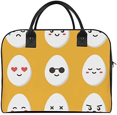 ボストンバッグ キャリーオン 大容量 トラベルバック 旅行 かわいい 鶏卵 キャラクター 肩掛け 手提げ ガーメントバッグ フライトバッグ スポーツ ジム ショルダー付き 旅行バッグ ジムバッグ 機内持ち込み