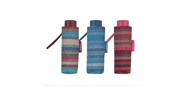 BISETTI Paraguas Plegable Listas (Azul, Rojo o Multi): Amazon.es: Juguetes y juegos