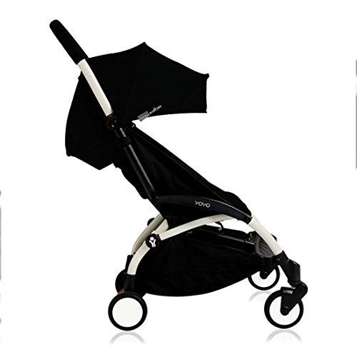 Babyzen YOYO+ Stroller - White/Black