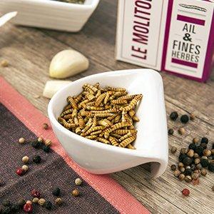 Insectos comestibles JIMINIS - 3 cajas para el aperitivo saltamonte, grillo, molitor: Amazon.es: Alimentación y bebidas