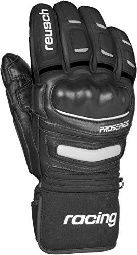 Reusch Racing Gloves - Reusch Snowsports World Champ Ski Gloves, Black, Medium
