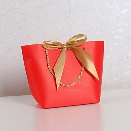 Ganjuan Bolsa de Regalo Caja de Regalo Grande (Color : K Red, Gift ...