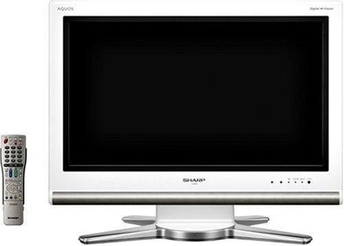 シャープ 26V型 液晶 テレビ AQUOS LC-26D10W ハイビジョン   2007年モデル B000NO1WLE ホワイト 26V型