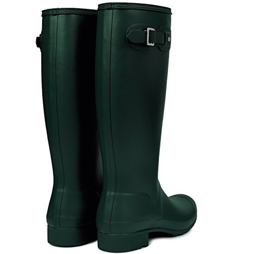 Womens Hunter Original Tall Wellington wasserdichte Winter Schnee Regen Stiefel Jägergrün