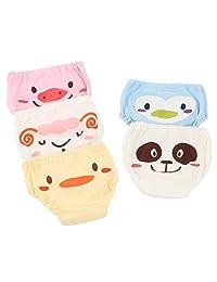 Joyo roy Toddler Boys Girls Cotton Underwear XX Large Pack of 5