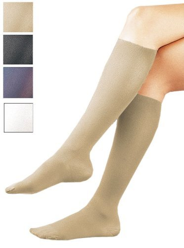 Activa Sheer Therapy 15-20 mmHg Women's Socks, Tan, Large