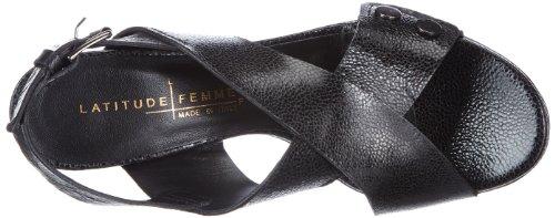 Black Forma 23 Ottavia nero Sandals Women Schwarz Latitude ztqwEI6E